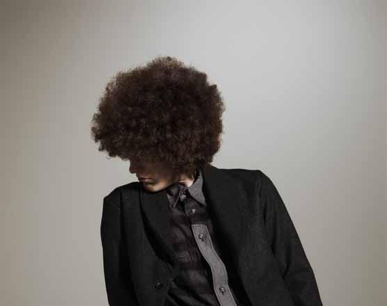 Melton Jacket × Flannel Shirt