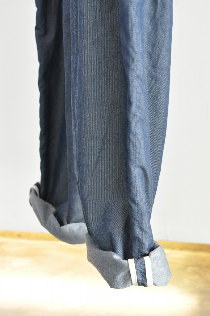 Denim 2tuck Pants