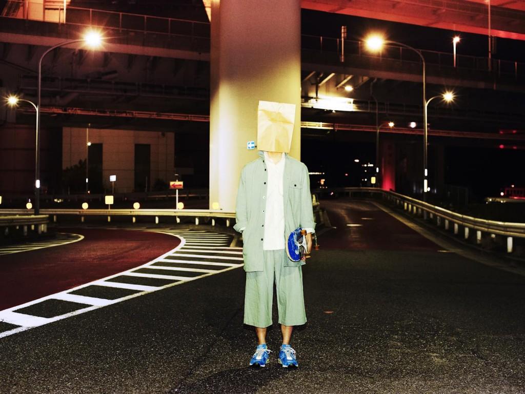 L/S Long Length Shirt × Chambray Culotte Pants