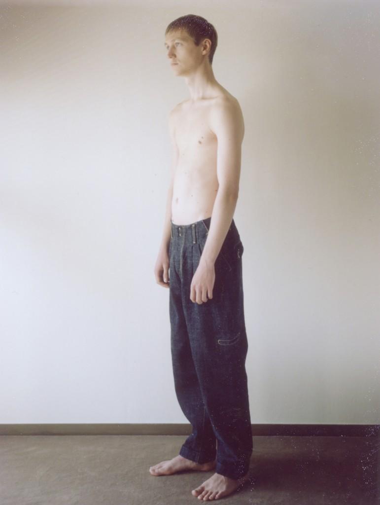 2tuck Denim Pants
