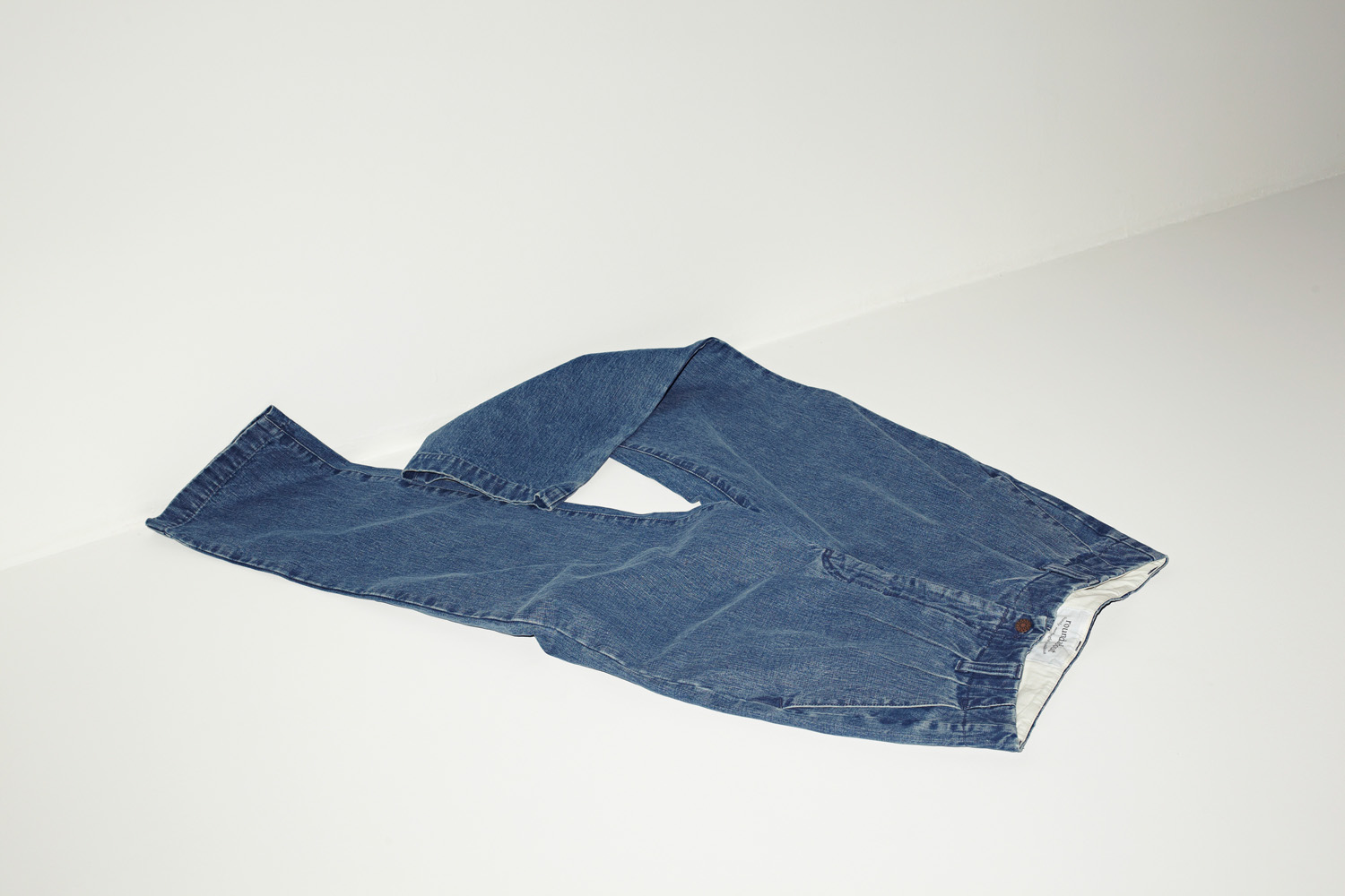 "Standard 2tuck Pants ""Denim"""
