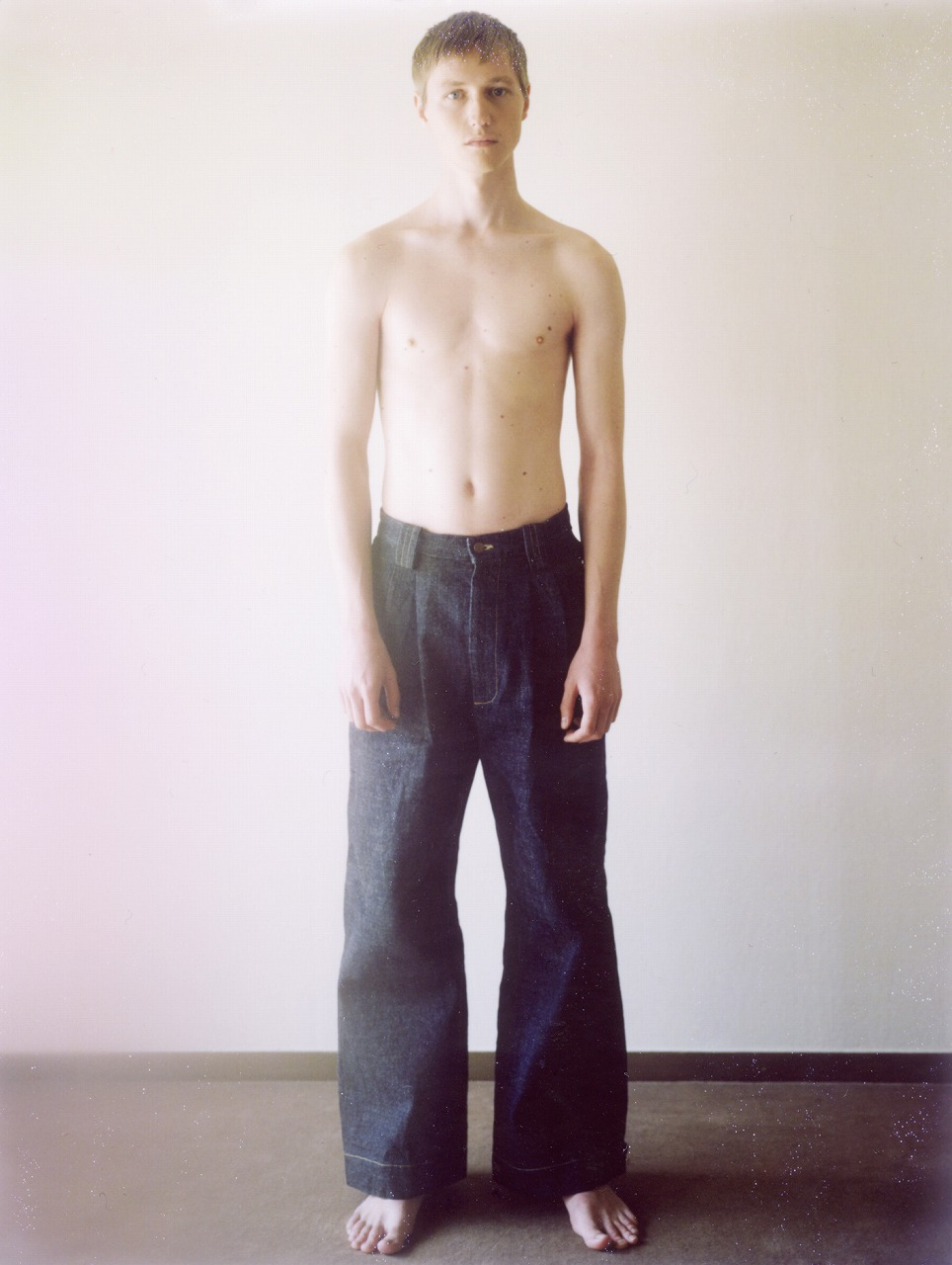 Denim Wide Pants