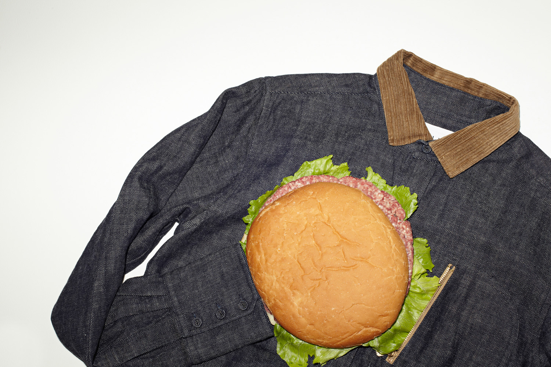 "L/S Zip-Pocket Shirt ""Denim"""