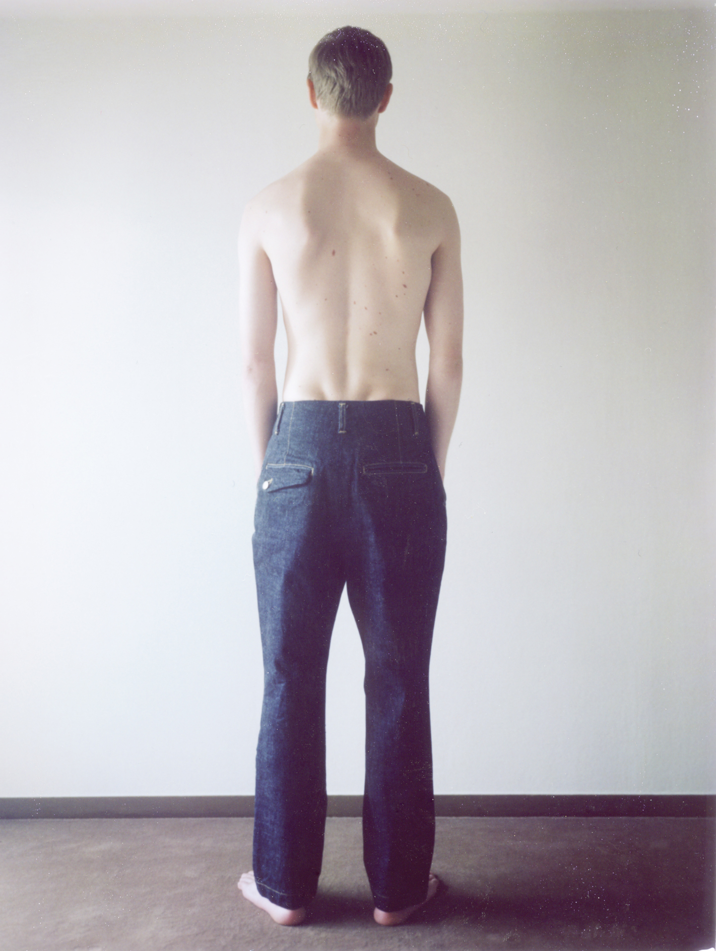 Denim Jodhpurs Pants
