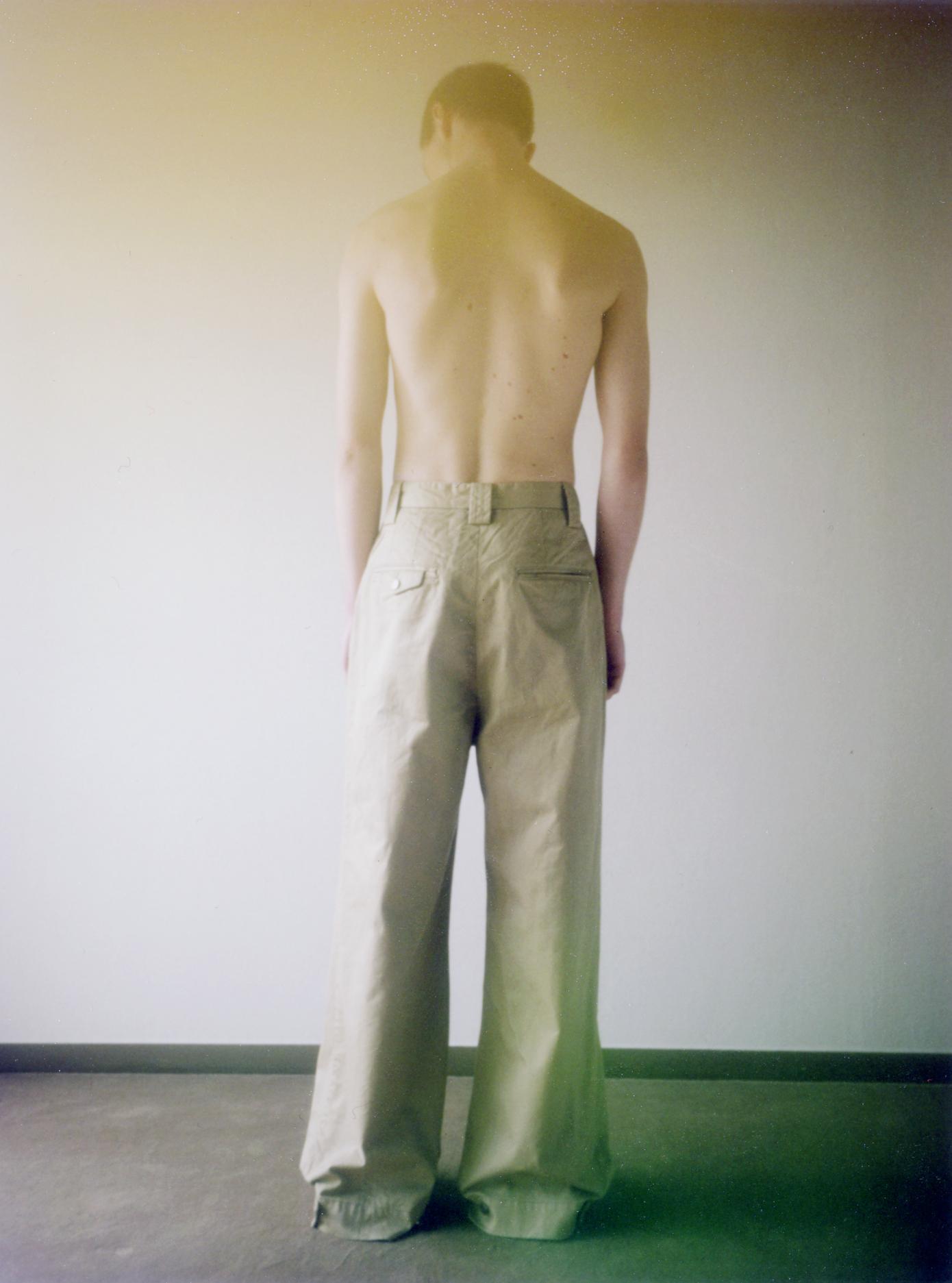 Chino Wide Pants