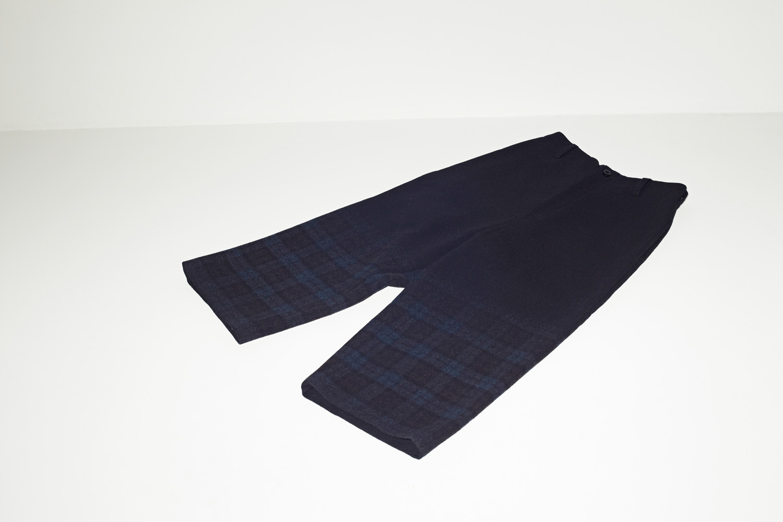 Wool Wide Pants