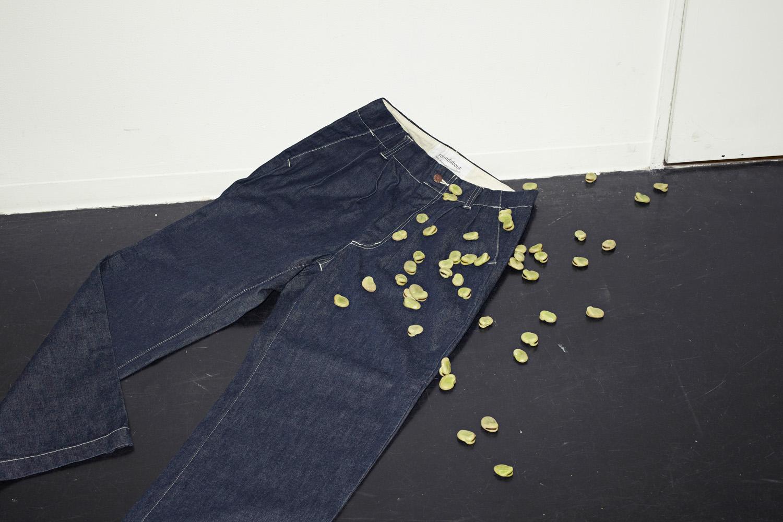 "Standard 2tuck Pants ""Denim"""